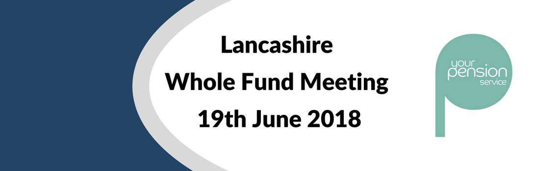 Lancashire Whole Fund Meeting 2018